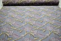 "Beacon Hill Italian Woven Papageno Lilac Organic Cotton Upholstery Fabric 57""W"