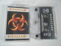 BIOHAZARD S/T SELF TITLED ALBUM CASSETTE TAPE SPV HOLLAND 1992