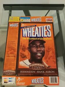Hank Aaron Wheaties Box