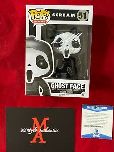 NEVE CAMPBELL AUTOGRAPHED SIGNED GHOSTFACE FUNKO POP #51! SCREAM! BECKETT! RARE!