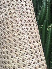 Rattan Cane Half Inch Open Weave Webbing Mesh Panels for Furniture Restoration
