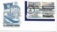 US Scott #4548-51, First Day Cover 6/28/11 Great Neck Place Block Marine