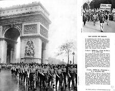 1935 Ligue de Droite Francistes Croix de Feu IMAGE SCOLAIRE 1964 ILLUSTRATION
