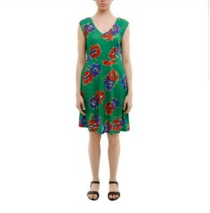 "BOOM SHANKAR Sz 16 NWT ""Molly"" green knee length dress"