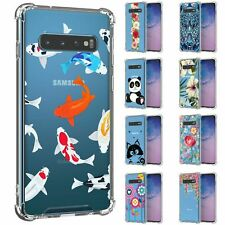 For Samsung Galaxy S10 G973 Slim Fit Flexible TPU Case Shockproof Bumper Clear