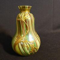 Jugendstil Vase Modern Style Böhmen Lötz Glaskunst Vintage Art Nouveau Wien Top