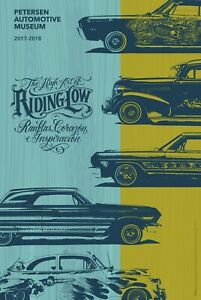 The High Art of Riding Low Exhibit Poster