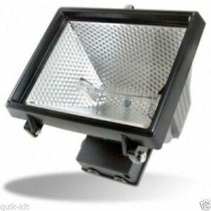 Timeguard NCFB500C 500W Energy Saving Halogen Floodlight - Black - Top Quality