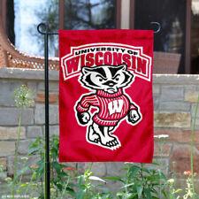 University of Wisconsin Badgers Garden Flag Yard Banner