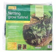 Netting Grow Tunnel 10ft Outdoor Garden Cloche Cover Vegetable Protection Insect