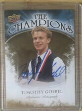 2009-10 Upper Deck The Champions Timothy Goebel (CH-TG) AUTO