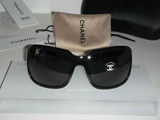 Brand New! Chanel 6023 Sunglasses (Black)