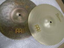 "Meinl Byzance 14"" Benny Greb Signature Sand hi-hat pair Cymbal B14SAH"