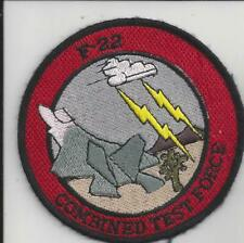 PATCH USAF F-22 COMBINED TEST FORCE