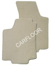 Fußmatten passend für Porsche Cayman Soundsy. Bj. 05-08 Velours Deluxe hellbeige