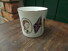 RARE Pottery Mug to commemorate the Queen's visit to Sultan of Brunei in 1977