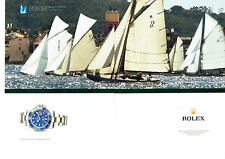 Publicité Advertising078  2012  Rolex montre oyster perpetual submarine (2p)