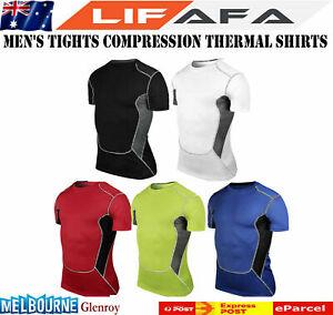 Mens Compression Shirt Sport Athletic 2021 New LF,