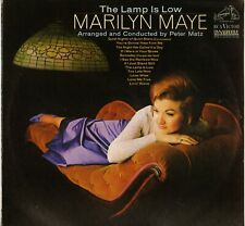 "MARILYN MAYE ""THE LAMP IS LOW"" VOCAL JAZZ LP 1966 RCA VICTOR LPM-3626"