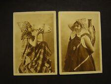 2   CARTES   POSTALES  :   ALGÉRIE    -   Jeune Mauresque  et  Femme du Sud