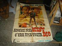 Anche IN West C'Era by The Volta Dio Manifesto 2F Original 1968 R. Harrison