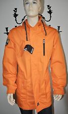 NEW BILLABONG GRADUATE LIGHT ORANGE 0561 PREMIUM COAT/JACKET FOR MEN Sz L NWT