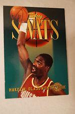 """NBA Card - Skybox - """"Sky Swats"""" - Hakeem 'The Dream' Olajuwon - Houston Rockets."""