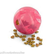 MultiVet SlimCat Cat Toy Ball & Food Dispenser - PINK