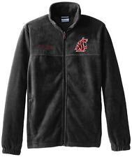 Washington State Cougars Charcoal Flanker II Zipper Fleece Sweater Mens XXL