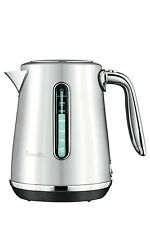 NEW Breville The Soft Top Luxe Kettle: Silver: BKE735BSS