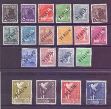 Berlin 1948 - Schwarzaufdruck MiNr.1/20 postfr.** geprüft- Michel 380,00 € (386)