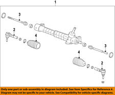 GM OEM Steering Gear-Inner Tie Rod End 13271998