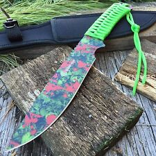 """12"""" ZOMBIE Fixed Blade FULL TANG Combat Tactical Survival Knife Hunting  Bowie-S"""