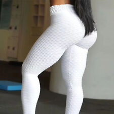 Womens PUSH UP Yoga Leggings Pants Fitness High Waist Sport Runnin Gym Trousers