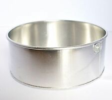 "Round Aluminium Cake Tin Baking Pan 8"" Value Range"