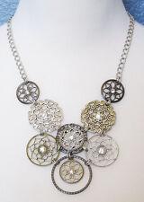 Premier Designs Jewelry Social Circle Necklace RV$59