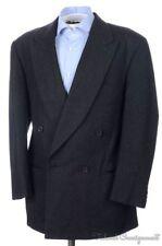 GIORGIO ARMANI BLACK LABEL Gray Flannel Wool Blazer Sport Coat Jacket - 40 R