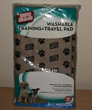 New Simple Solution Training Travel Pet Dog Pee Pad Washable Medium M 20 x 27