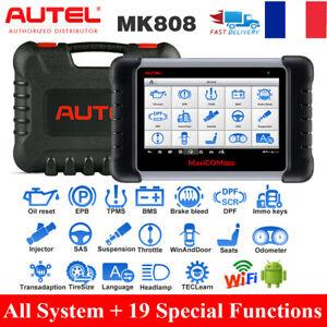 Autel MaxiCom MK808 MX808 OBD2 EOBD Scanner Valise Diagnostique Auto Diagnostic
