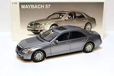 1:18 AUTOart Maybach 57 Himalaya grey NEW bei PREMIUM-MODELCARS