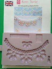 Karen davies art deco bijoux et perles sugarcraft moule de livraison rapide!