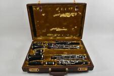g28w82- 2x Klarinette F.Arthur Uebel mit Koffer