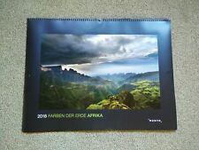 Farben der Erde: Afrika 2018: Kalender 2018 KUNTH Zustand sehr gut Äthiopien