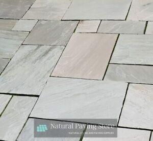 Sandstone kandla Grey Paving patio slabs  22mm Thickness.