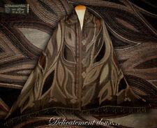 Belle étole 100% laine motif contemporain - CH203