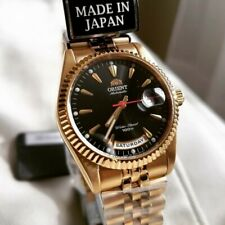 Rare Orient Oyster President Gold Japan Made Watch Ev0j004bh SEV0J004BH