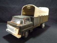 Marx Army Carrier Truck w/ Original Canopy