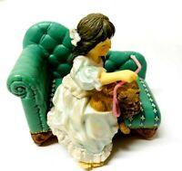 Goebel Treasures Artist Signed Sandra Kuck Playful Kitten Figure Cats