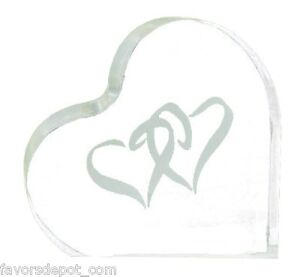 wedding cake top linked double heart design cake topper heart theme