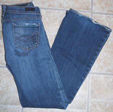 Citizens Of Humanity Naomi #065 Low waist flair flare 25 USA jeans distressed